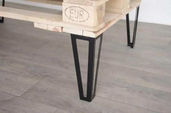 pieds de table basse ajoures 40cm