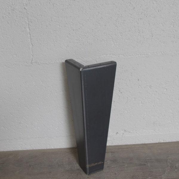 pied de table basse en acier brut de 30cm