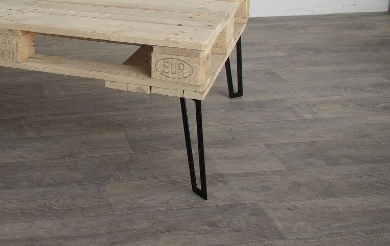 Pied De Table Basse Epingle 40cm Ref Flata40 Pyeta