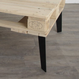 pied de table basse minimaliste