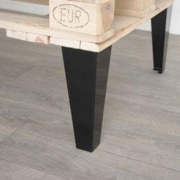 Pied style industriel pour table basse