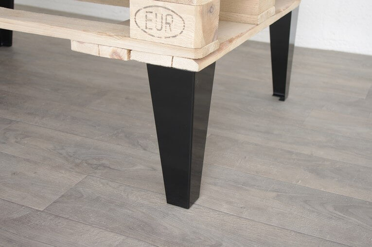 pied de table basse style industriel 30cm ref vest30 pyeta. Black Bedroom Furniture Sets. Home Design Ideas