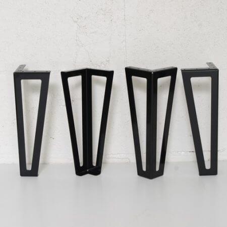 pieds style vestiaires evidés de 30cm