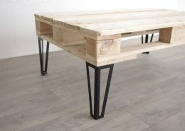 pied hairpin legs 3 branches pour table basse