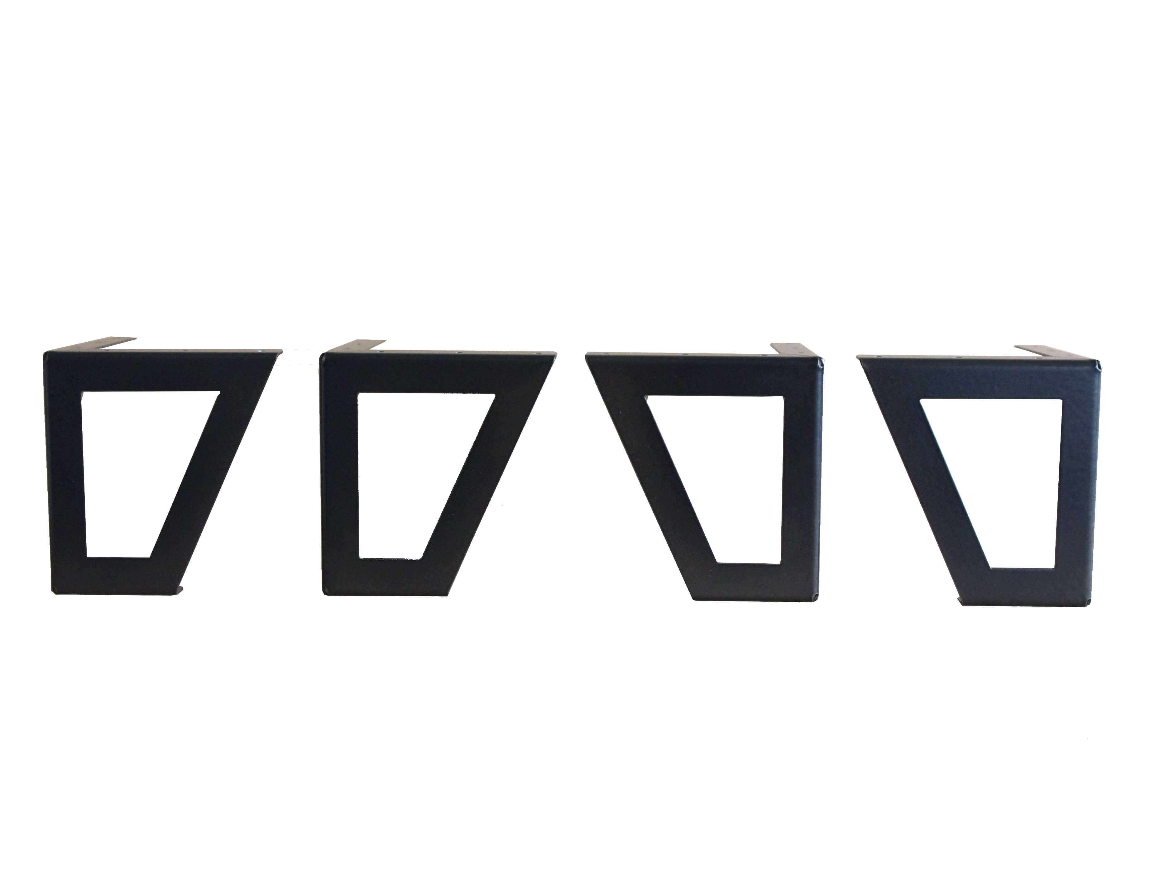 Pied De Meuble Design Ajour Pour Cr Er Votre Mobilier  # Meuble Acier Noir