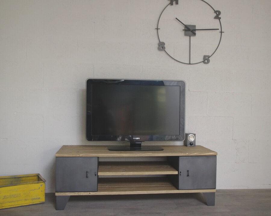 Pied de meuble style industriel 12,50 cm - ref: Vest125
