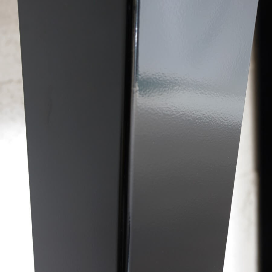 Pieds de table de repas style industriel 73cm ref for Table repas style industriel
