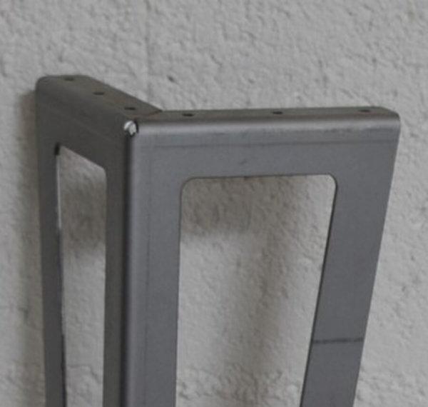 pied de table basse style industriel brut ajouré 12-50cm