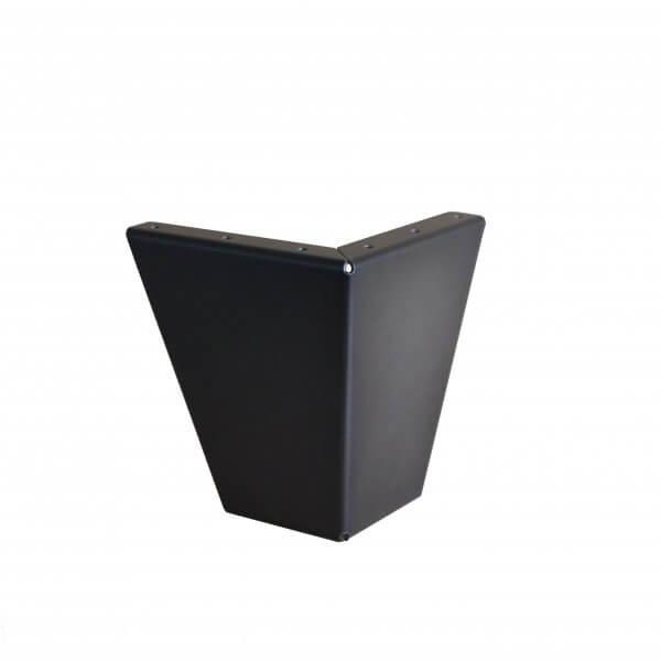 pied de meuble style industriel 12 50 cm ref vest125 pyeta. Black Bedroom Furniture Sets. Home Design Ideas