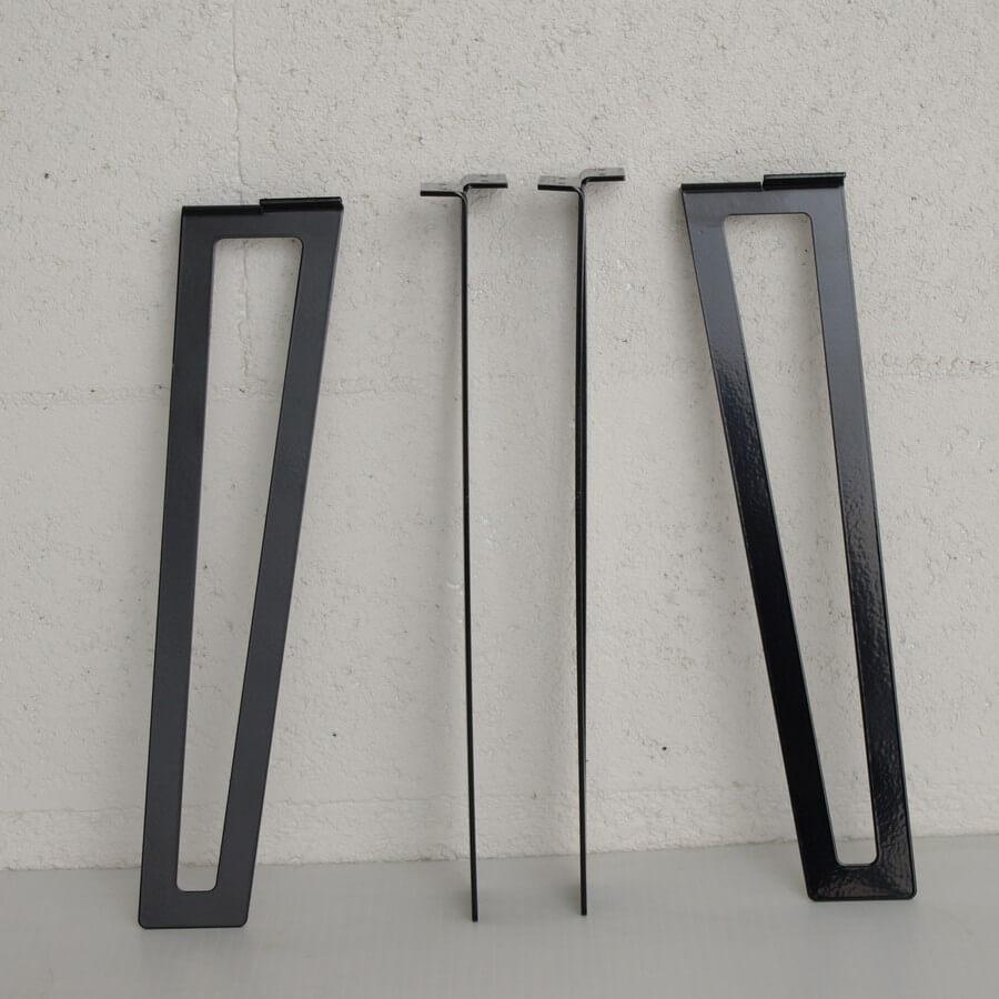 pieds pour table basse design 40cm ajour - Pied Pour Table Basse