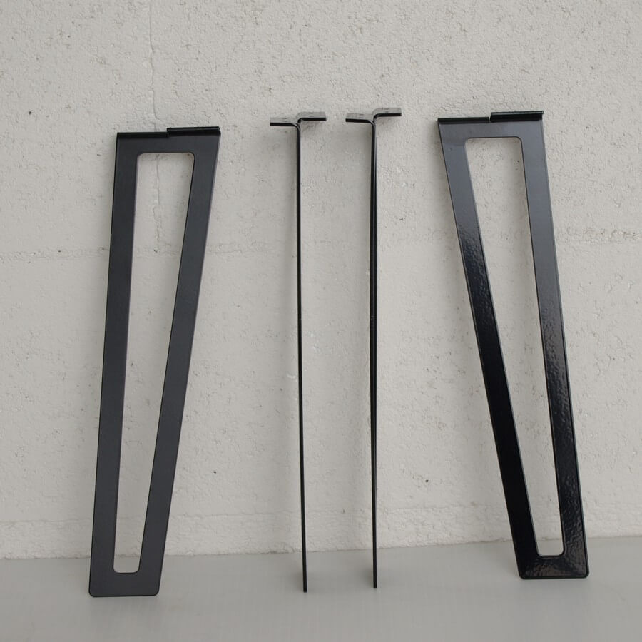 pied de table basse epingle 40cm ref flata40 pyeta. Black Bedroom Furniture Sets. Home Design Ideas
