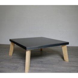 pied de table basse en chene sur-mesure
