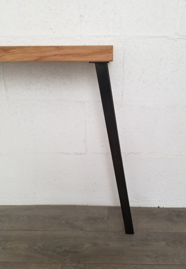 pieds-table-console-métallique