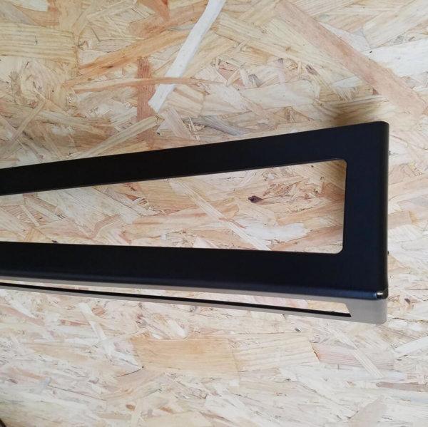 pieds de table design noir