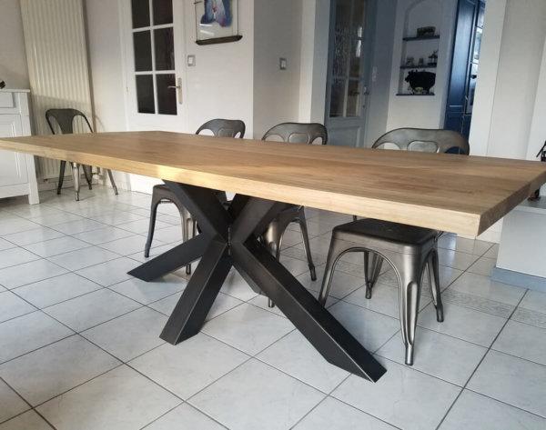 pied-de-table de-repas-design
