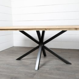 pied de table de repas mikado