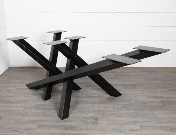 pied de table en croix
