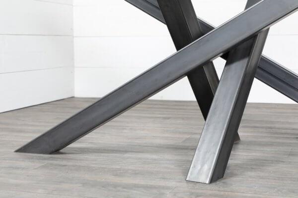 pieds de table croises style industriel