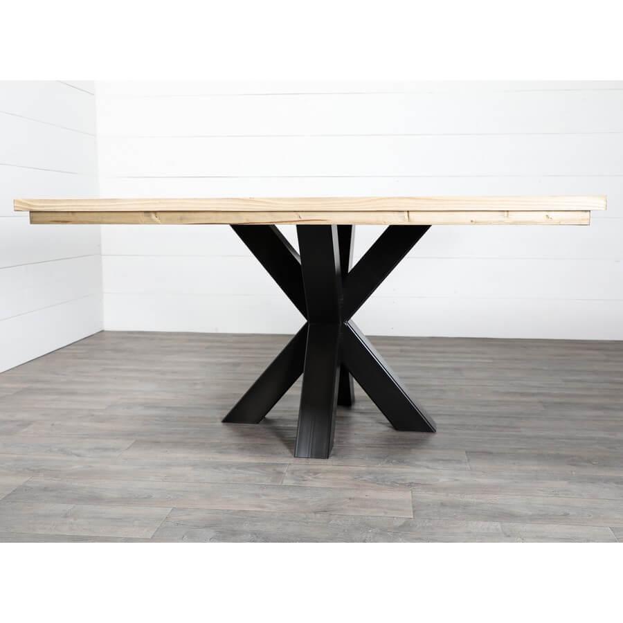 Pied Mikado pour table ronde ou carrée - Ref: Mikarré