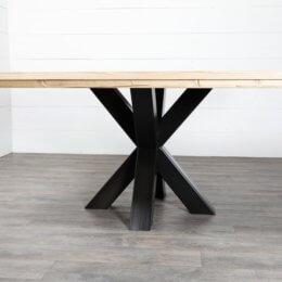 pied mikado pour table ronde