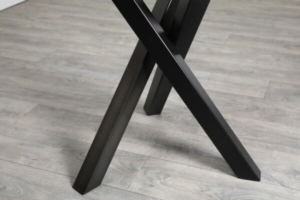 pied 3 branches pour table carree