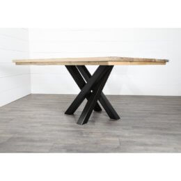 Pied central pour table carree