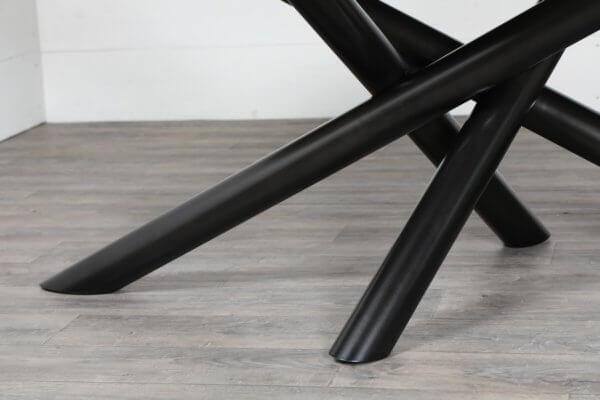 pied de table croise sur mesure