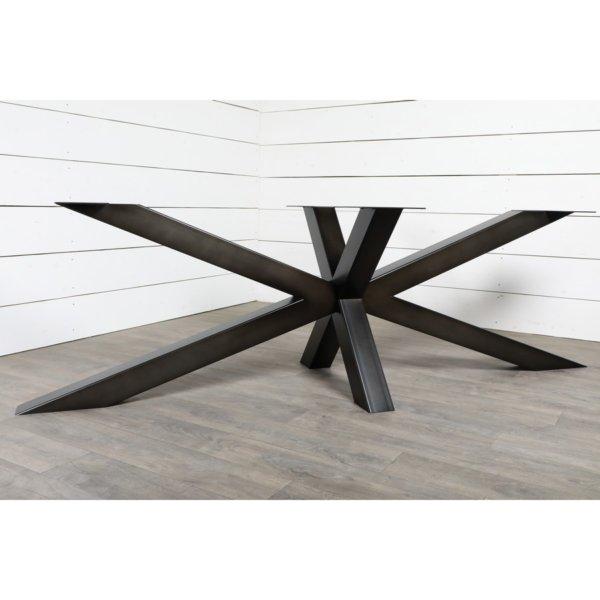 Grand pied de table de repas style Mikado